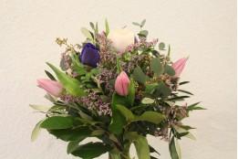 Blumenstrauß Violett-Rosa