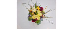Blumenbox bunt