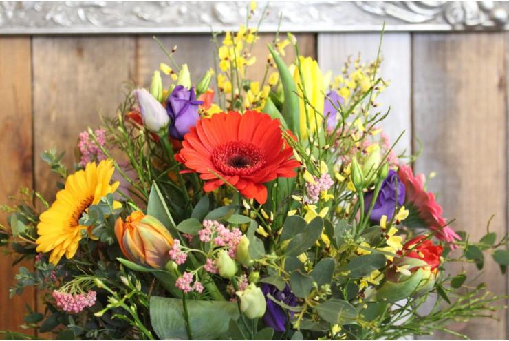 bunter Blumenstrauß